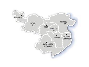 Tourismus Costa Brava und Girona Pyrenäen